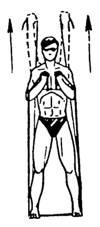Упражнение 3 с резиновым амортизатором или эспандером