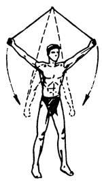 Упражнение 6 с резиновым амортизатором или эспандером